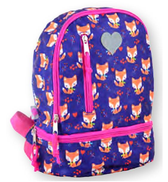 Рюкзак детский K-21 Fox, 27*21.5*11.5 555315 YES