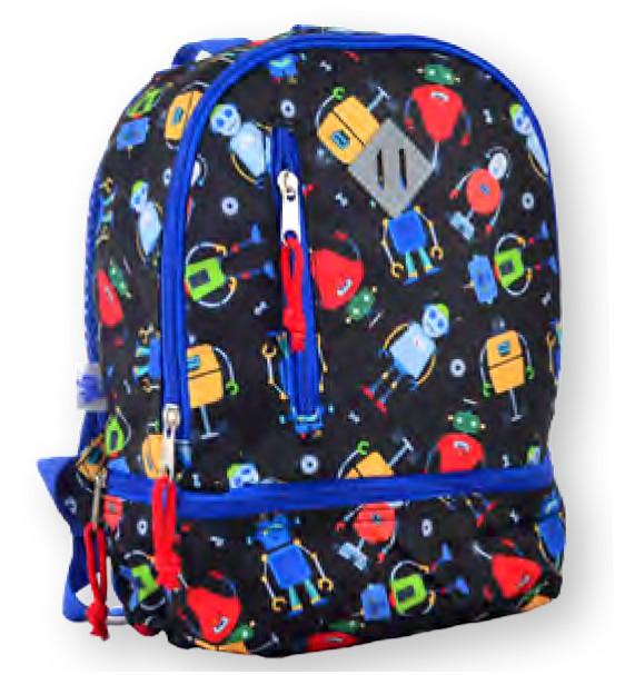 Рюкзак детский K-21 Robot, 27*21.5*11.5 555317 YES