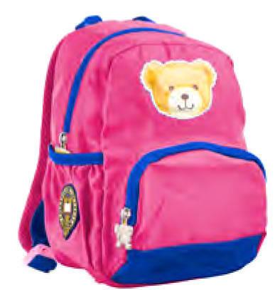 Рюкзак детский  j058, 26*18.5*10.5, синiй 555724 YES, фото 2