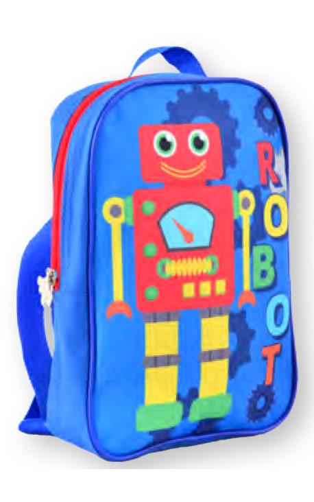 Рюкзак детский K-18  Robot, 24.5*17*6 554750 YES