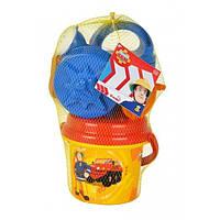 Ведерко с аксесуарами Пожарник Сем 9256110  SIMBA GL