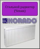 Стальной радиатор KORADO 22 тип 300х3000 (боковое подключение)