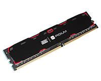 Оперативная память для компьютера 4Gb DDR4, 2400 MHz, Goodram Iridium Black, 15-17-17, 1.2V, с радиатором
