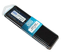 Оперативная память so-dimm для ноутбука 4Gb, DDR3, 1600 MHz (PC3-12800), Goodram, 1.35V (GR1600S3V64L11S/4G)