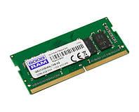 Оперативная память so-dimm для ноутбука 4Gb, DDR4, 2133 MHz, Goodram, 1.2V (GR2133S464L15S/4G)