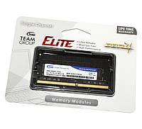 Оперативная память so-dimm для ноутбука 4Gb, DDR4, 2133 MHz, Team, 1.2V, CL15 (TED44G2133C15-S01)