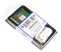 Память SO-DIMM 4Gb, DDR4, 2400 MHz, Kingston, 1.2V, CL16 (KVR24S17S8/4)