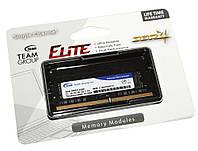 Оперативная память so-dimm для ноутбука 4Gb, DDR4, 2400 MHz, Team, 1.2V, CL16 (TED44G2400C16-S01)