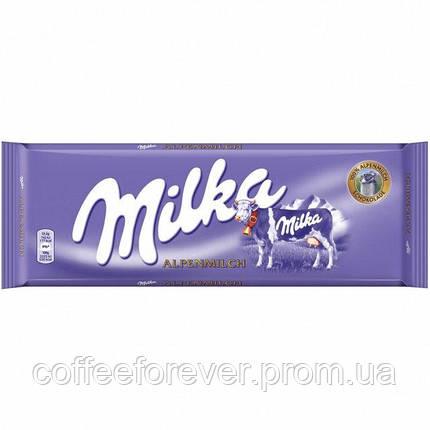 Шоколад Milka Alpenmilch 300г, фото 2