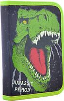Пенал твердый одинарный с клапаном Dinosaur 531870 1 Вересня, фото 3