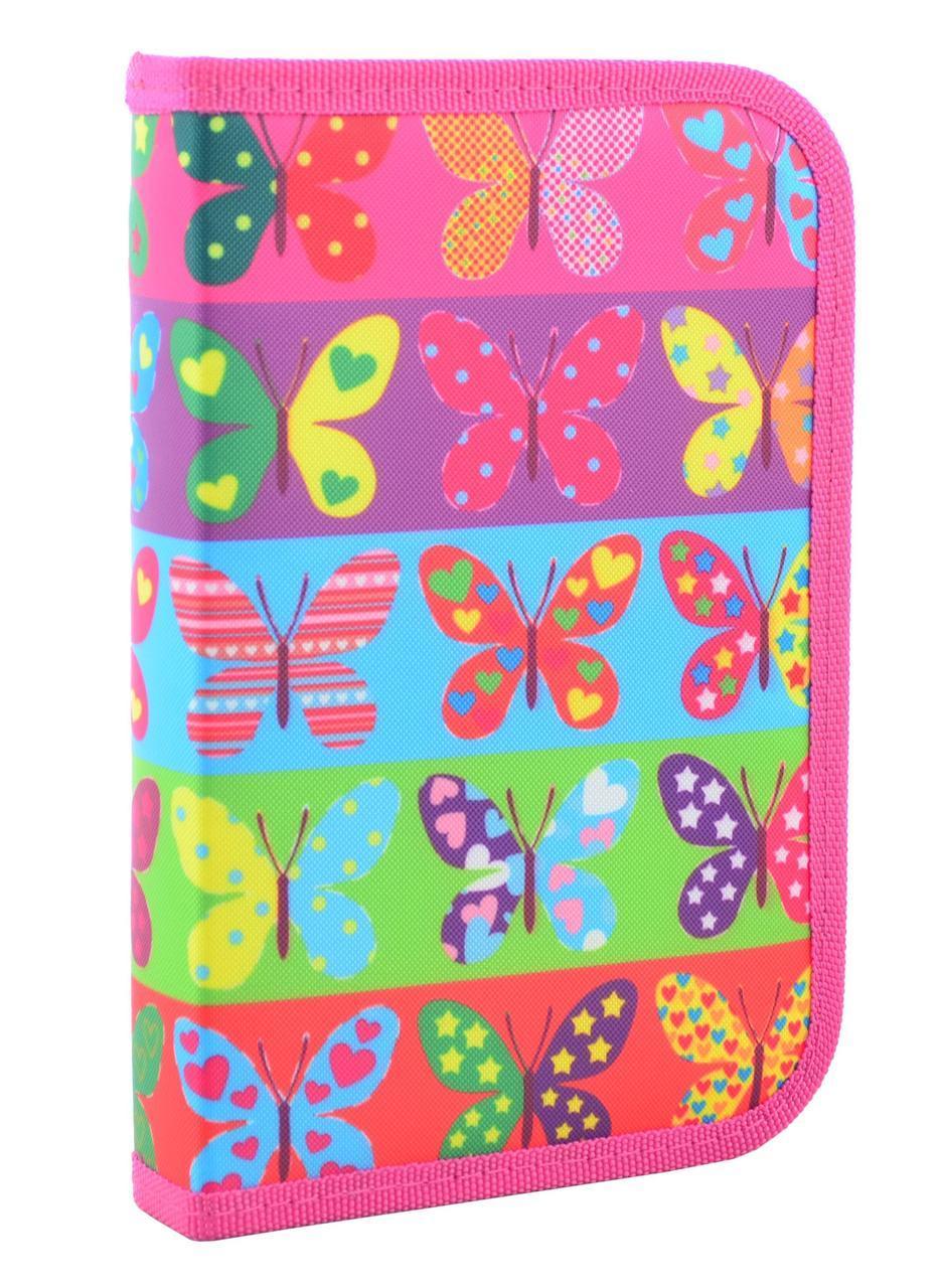 Пенал твердый одинарный Butterflyt 531654 SMART