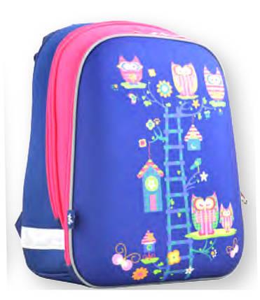 Рюкзак каркасный Owl blue 554495 YES, фото 2
