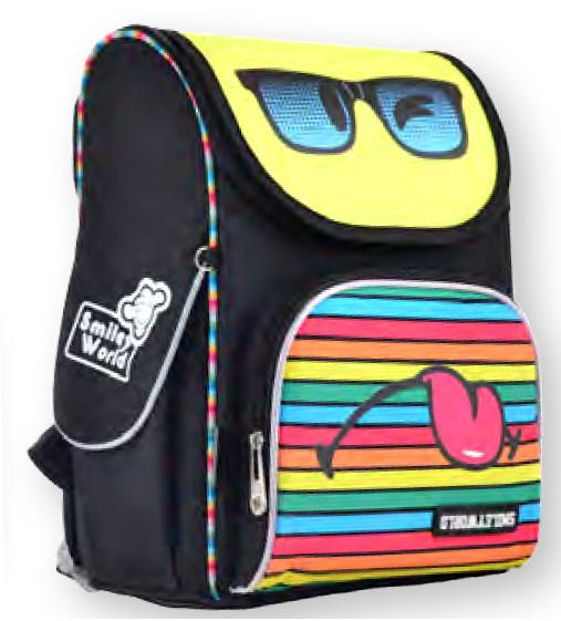 Рюкзак каркасный Smiley world 555124 YES
