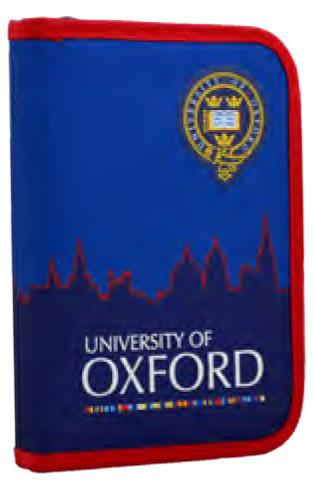 Пенал твердий одинарний c клапаном  Oxford, 20.5*14*3.5 531761 YES