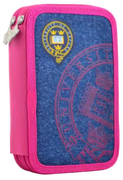 Пенал двойной  Oxford rose 531778 YES