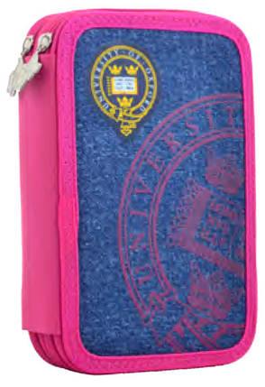 Пенал двойной  Oxford rose 531778 YES, фото 2