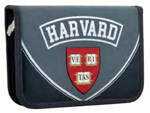 Пенал твердий одинарний c клапаном  Harvard, 20.5*14*3.5 531764 YES, фото 2