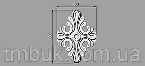 Розетка 30 - 60х80 - декоративная, фото 2