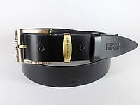 Ремень мужской кожаный TOMMY HILFIGER с классической пряжкой 4 см Итальянская кожа