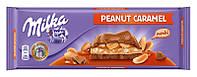 Шоколад Milka Peanut Caramel молочный арахис+карамель 276г