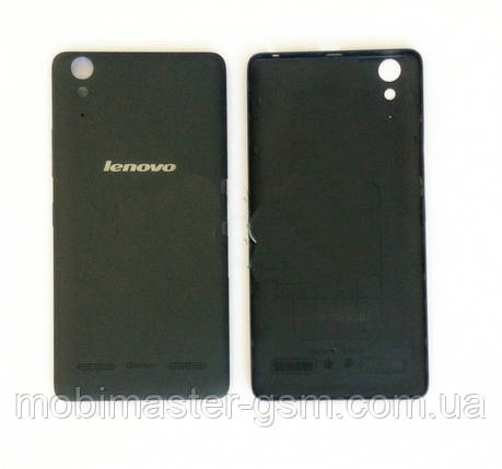 Задняя крышка Lenovo A6000 черная, фото 2