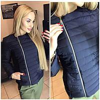 Демисезонная женская куртка ветровка мята