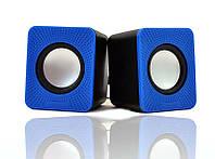 Компьютерные колонки D-01A blue