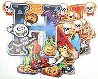"Гирлянда праздничная на Хэллоуин ""Happy Halloween"""