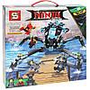 Конструктор Ninja movie Водяной робот паук SY928