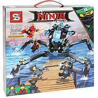 Конструктор Ninja movie Водяной робот паук SY928, фото 1