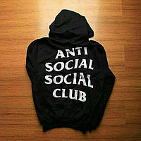 Anti Social Social Club худи • Бирка ASSC • Женская толстовка
