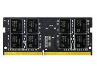 Оперативная память so-dimm для ноутбука 16Gb, DDR4, 2400 MHz, Team Elite, 1.2V, 16-16-16-39 (TED416G2400C16-S01)