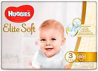Подгузники Huggies Elite Soft 3, 80шт (5029053546315)
