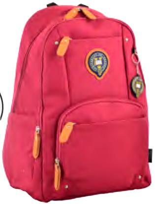 Рюкзак міський OX 347, 43*27*13, бордовий 555614 YES