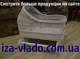 Плетеные детские кроватки