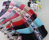 Носки зимние ангора для девочек р.31-36