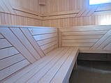 Полки для бани из липы 80*40 мм, длинна 2,8, фото 2