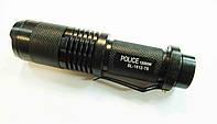 Тактический фонарь Police BL-1812, 12000W диод T6 Очень мощный
