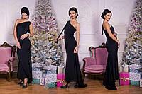 """Длинное платье """"Эк-Балам"""", вечернее платье макси на одно плечо. Разные цвета, размеры."""