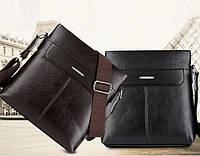 Мужская кожаная сумка. Модель 63298, фото 2