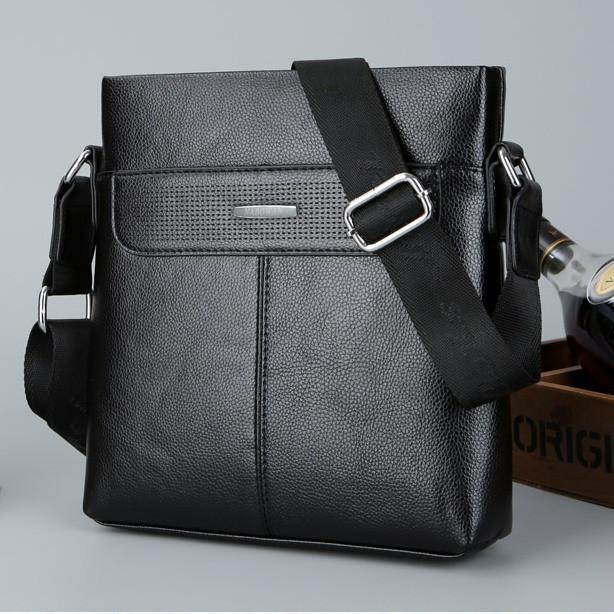 Мужская кожаная сумка. Модель 63298