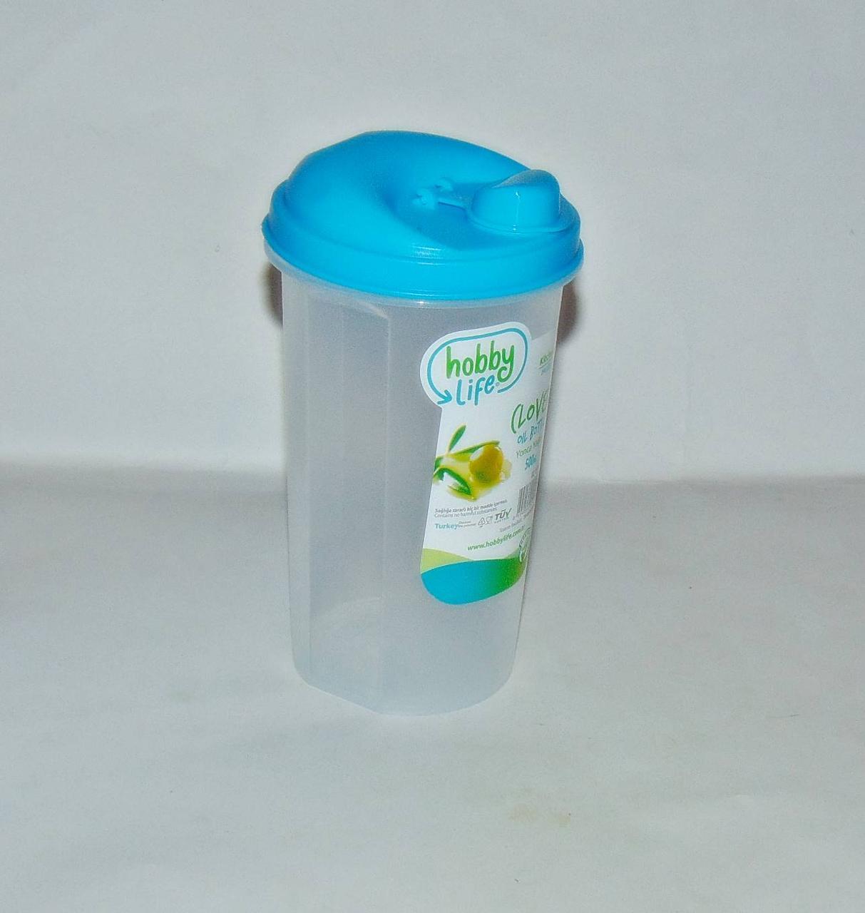 Емкость для растительного масла пластиковая 500 мл