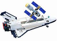 Конструктор Шатл со спутником 593 детали Brick-514