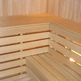 Лежак для бани и сауны липа 85*22 мм, длинна 2,1м, фото 4