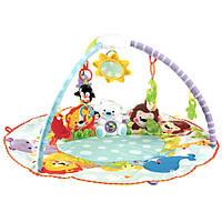 Детский музыкальный развивающий коврик 7182 Умный малыш