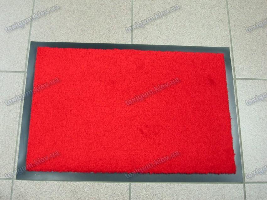 Коврик грязезащитный Элит 60х90см., цвет красный