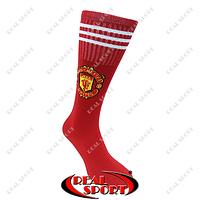 Гетры футбольные детские клубные Манчестер Юнайтед FB020142 (х-б, верх-нейлон, р-р 35-39, красный)