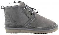 Зимние мужские ботинки угги UGG Australia Neumel серые
