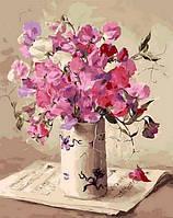 Картина по номерам NB1062 Музыка цветов Худ Коттерил Анне (40 х 50 см) Турбо Премиум