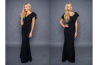 """Длинное платье """"Лиана"""", вечернее платье макси с открытым декольте. Разные цвета, размеры."""